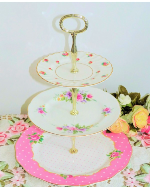 MISMATCHED CAKE STAND ALICE